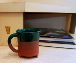Tripod Cup - Triassic Line of wares - Available on Etsy