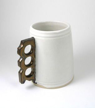 Brass Knuckle Mugs - Sold out