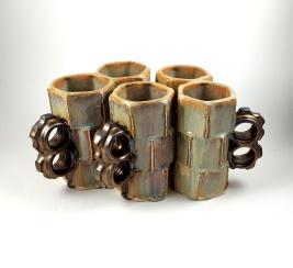 Bolt Triple Stacks - Available on Etsy