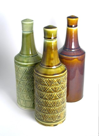 Whiskey bottles and Sets - Available on Etsy
