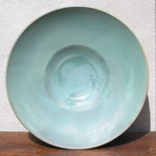 Large Platter in Green Patina - Available on Etsy